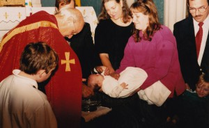 Baptism of David McGinnis