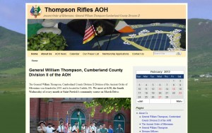 General William Thompson, Cumberland County Division II of the AOH